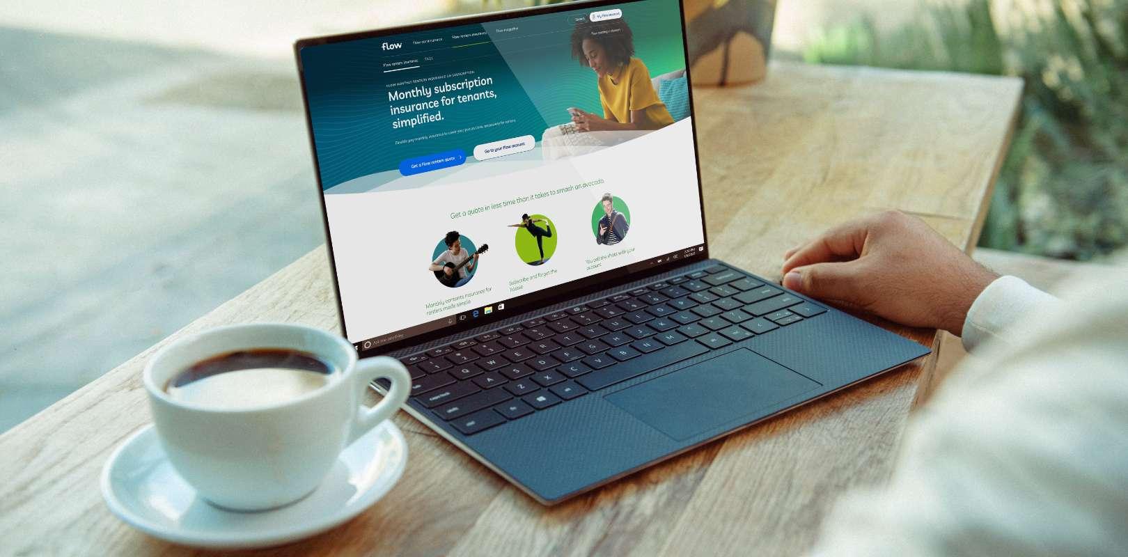 LV Flow on a laptop